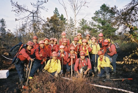 Wildland Firefighting Crew