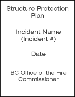 2011 SPP Structure Protection Plan