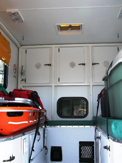 Mobile Treatment Centre inside