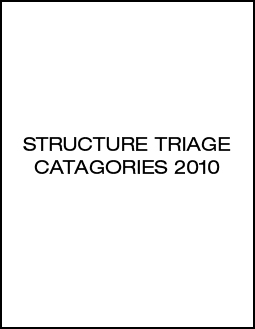 structure triage catagories