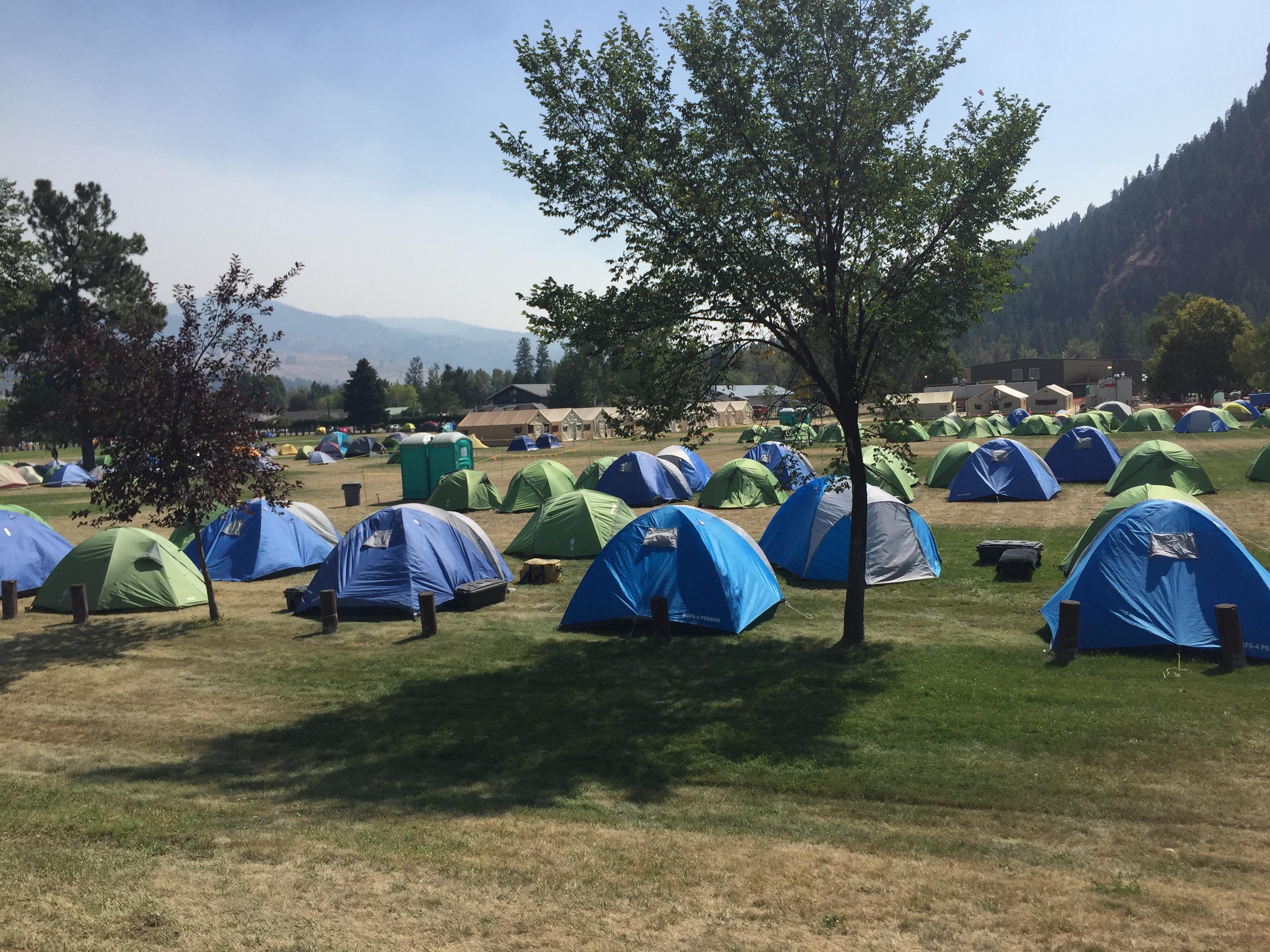 Firestorm camp tents