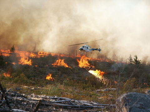 Prescribed Fire Service Helicopter