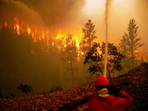 structured protection Fighting Fire