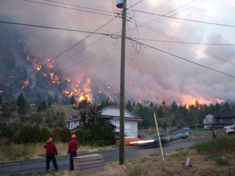 structured protection Firestorm Crew Fighting Fire