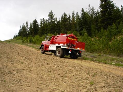 Firestorm Tenders on the road