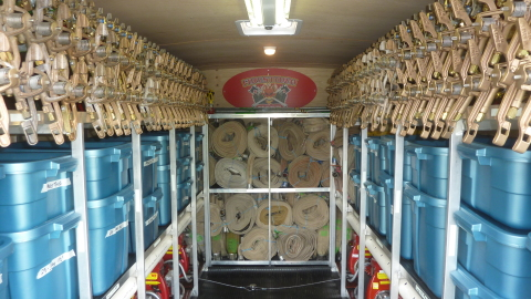 Inside Structure Protection Sprinkler Trailers - Type 2